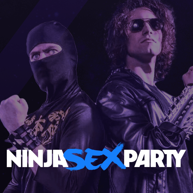 ninja sex party under the covers